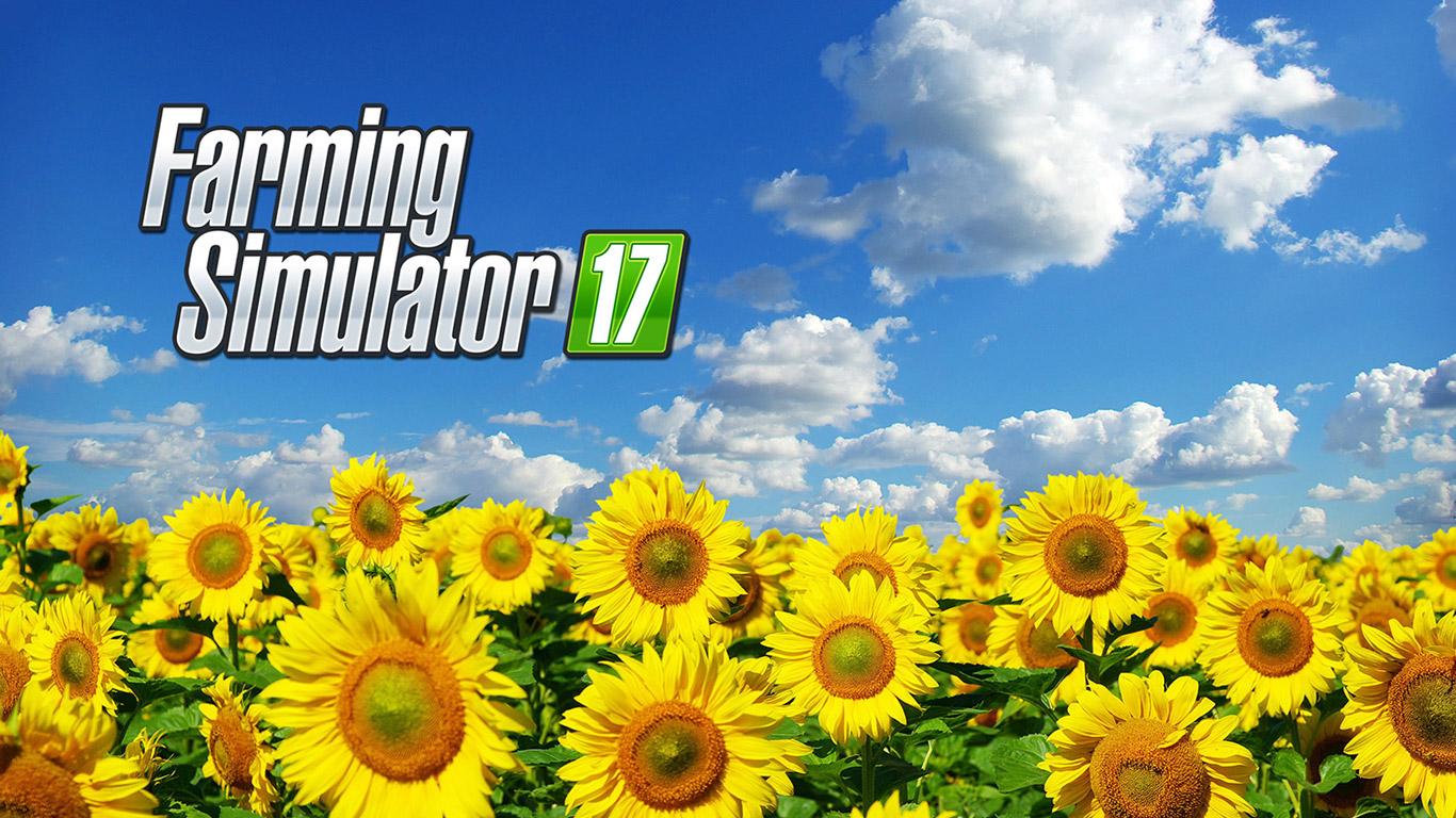 Free Farming Simulator 17 Wallpaper in 1366x768