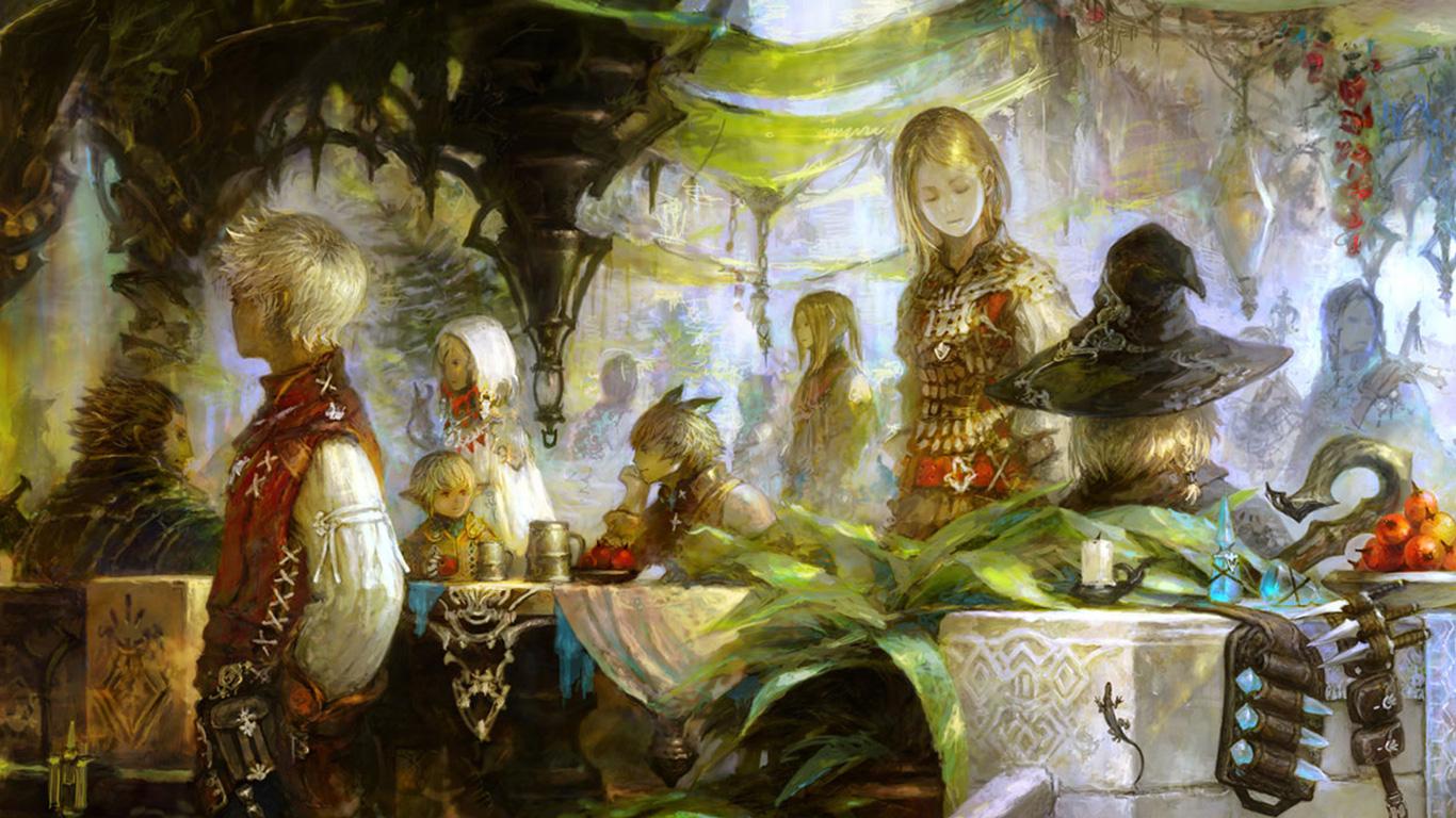 Free Final Fantasy XIV Wallpaper in 1366x768