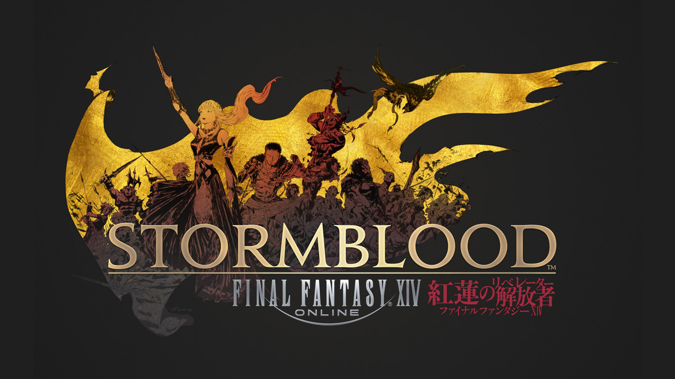 Free Final Fantasy XIV Wallpaper in 1366x768