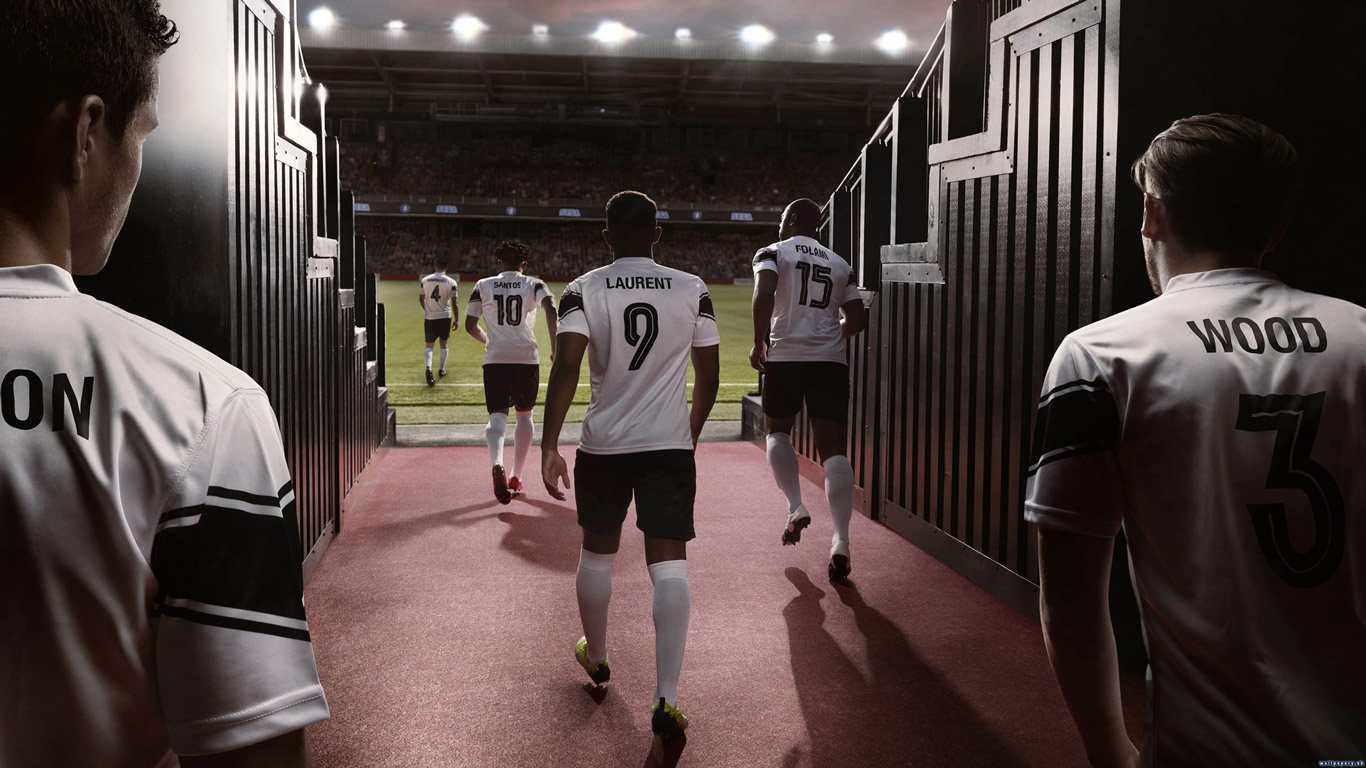 Free Football Manager 2019 Wallpaper in 1366x768
