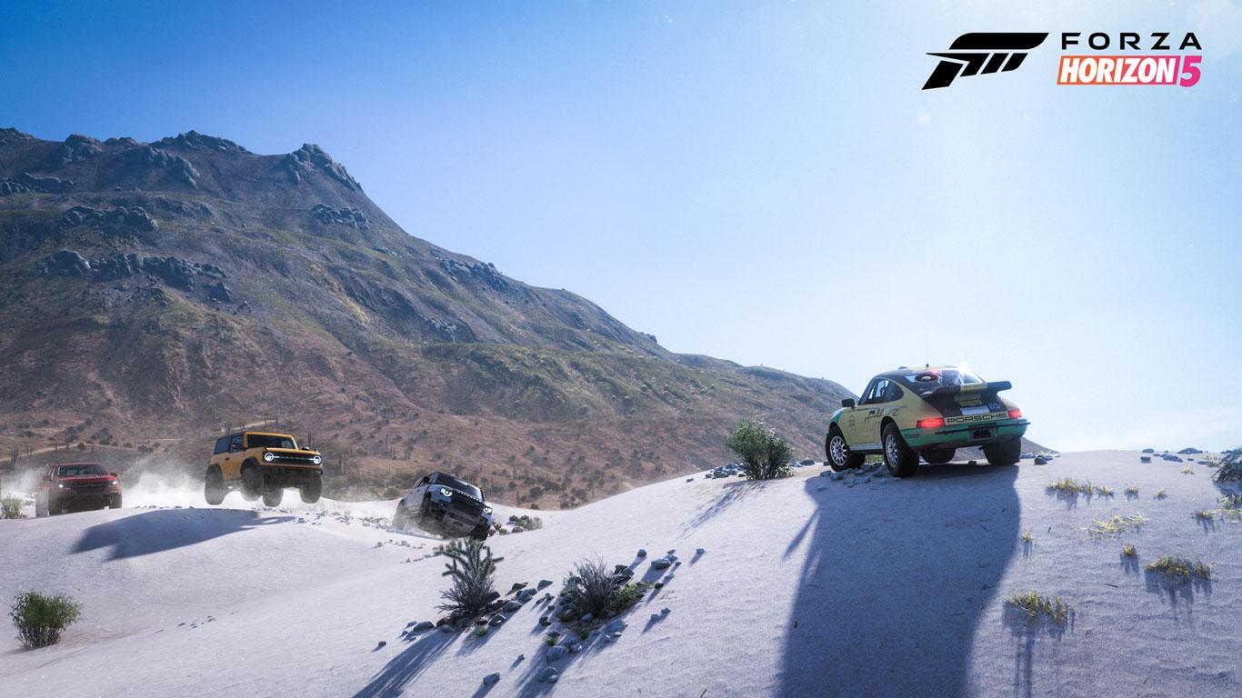 Free Forza Horizon 5 Wallpaper in 1366x768