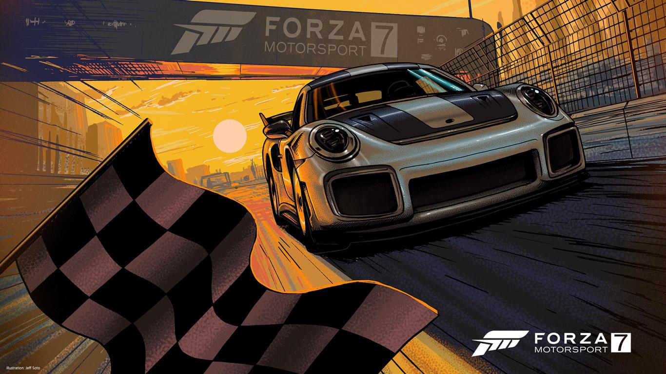 Forza Motorsport 7 Wallpaper in 1366x768