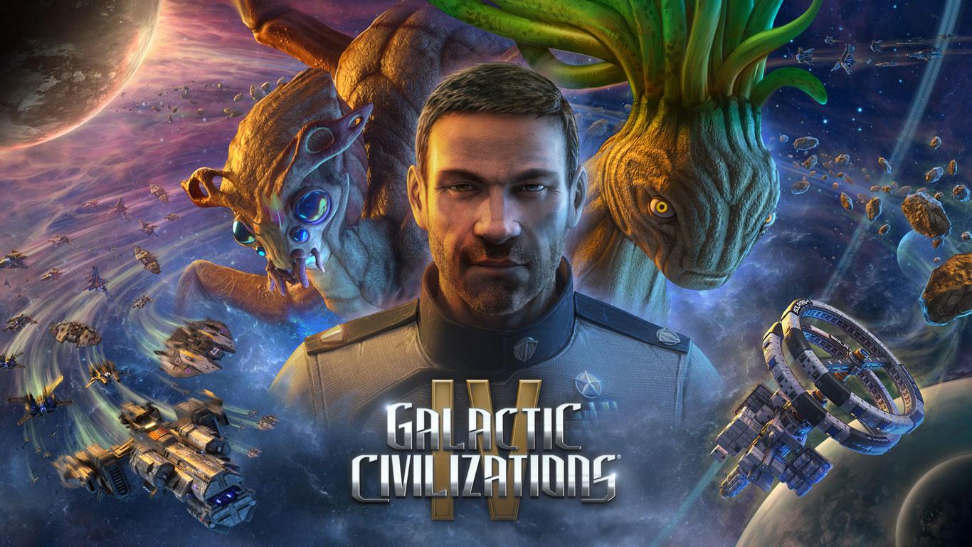 Free Galactic Civilizations IV Wallpaper in 1366x768