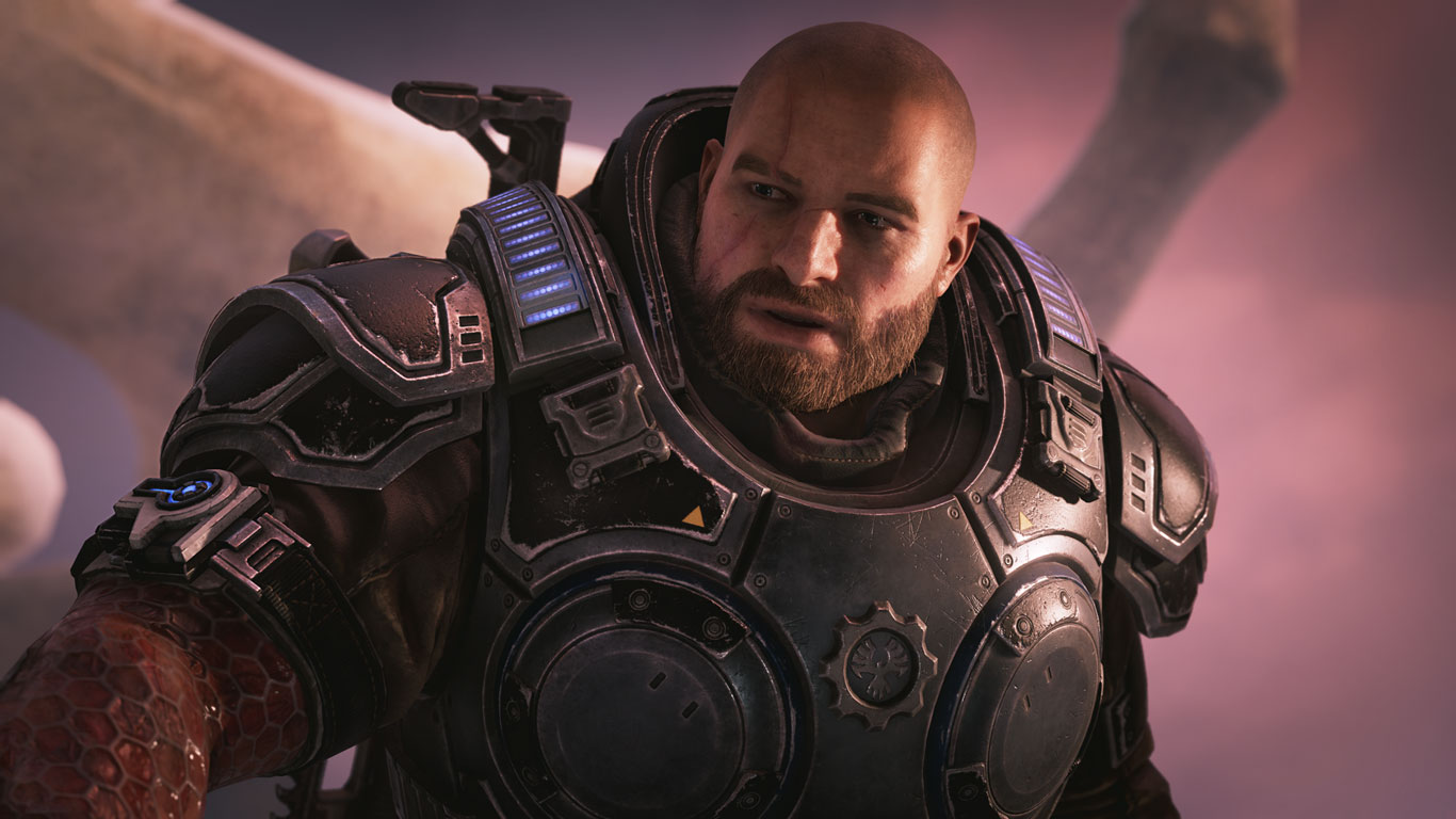 Free Gears 5 Wallpaper in 1366x768