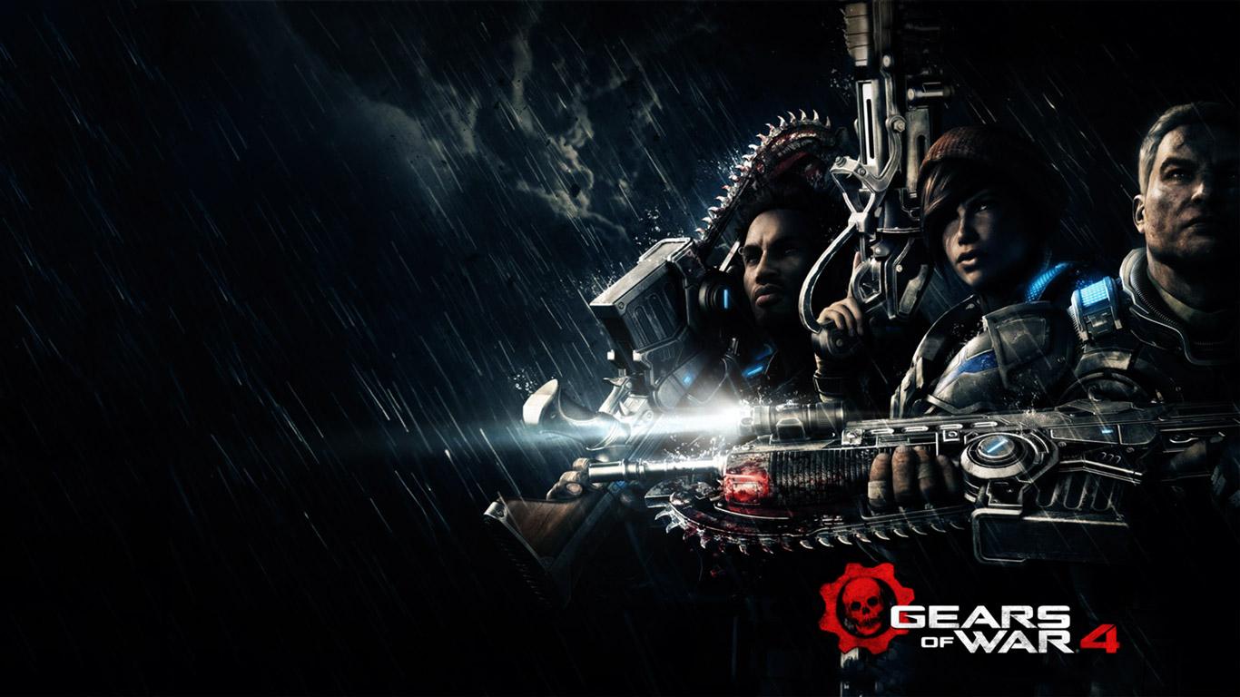 Gears of War 4 Wallpaper in 1366x768
