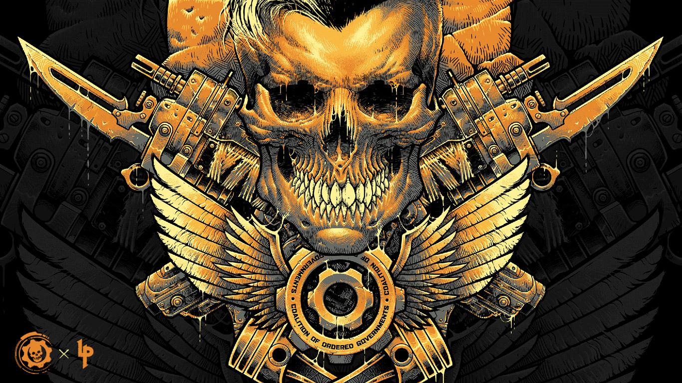 Gears Tactics Wallpaper in 1366x768