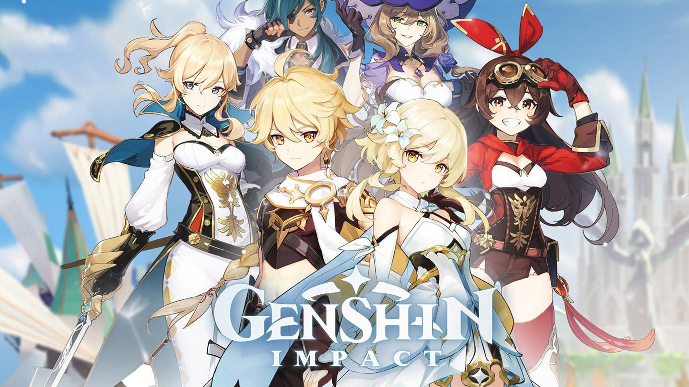 Free Genshin Impact Wallpaper in 1366x768
