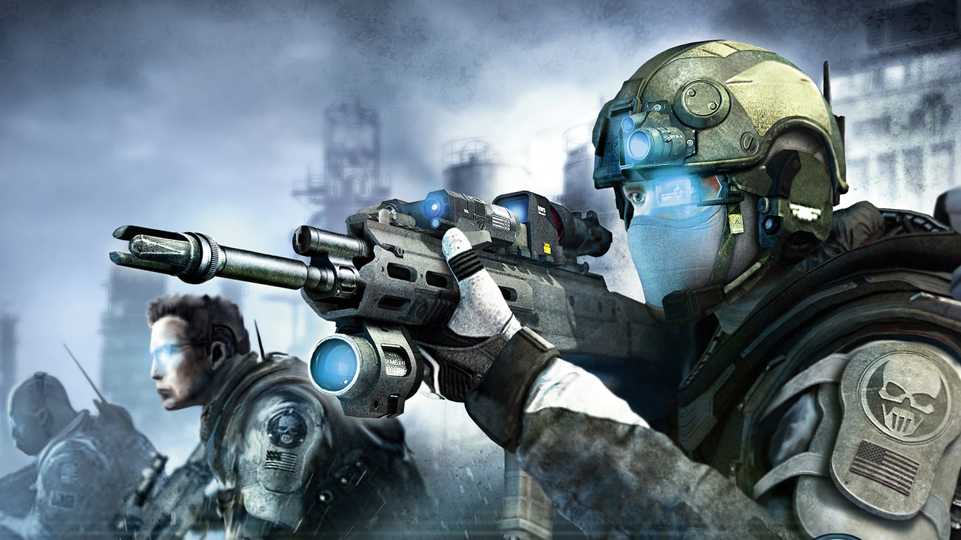 Ghost Recon: Future Soldier Wallpaper in 1366x768