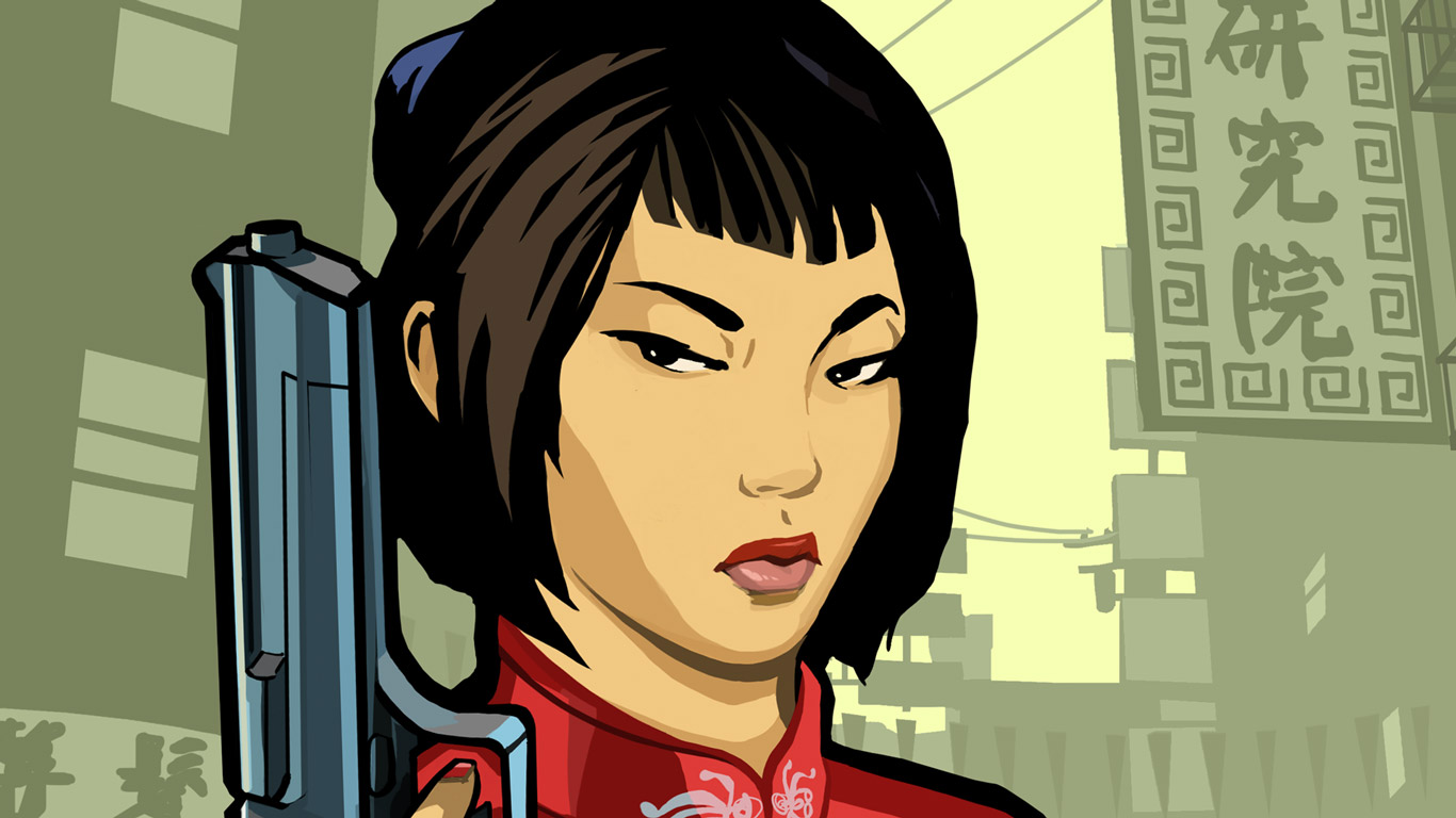 Free Grand Theft Auto: Chinatown Wars Wallpaper in 1366x768