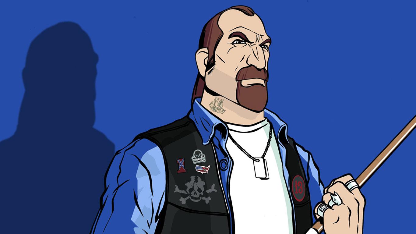 Free Grand Theft Auto: Vice City Wallpaper in 1366x768
