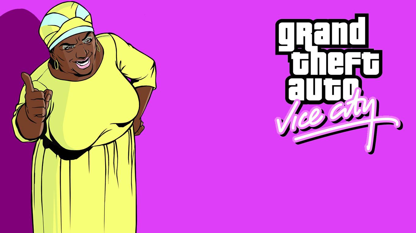 Grand Theft Auto: Vice City Wallpaper in 1366x768