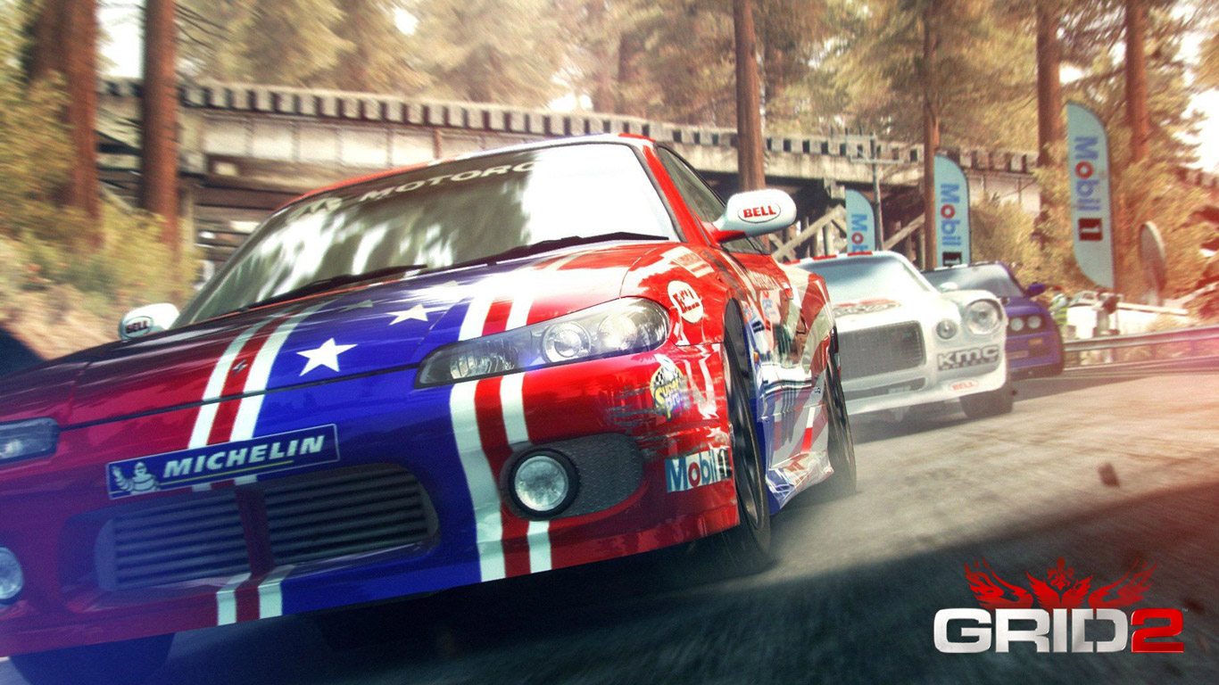 GRID 2 Wallpaper in 1366x768