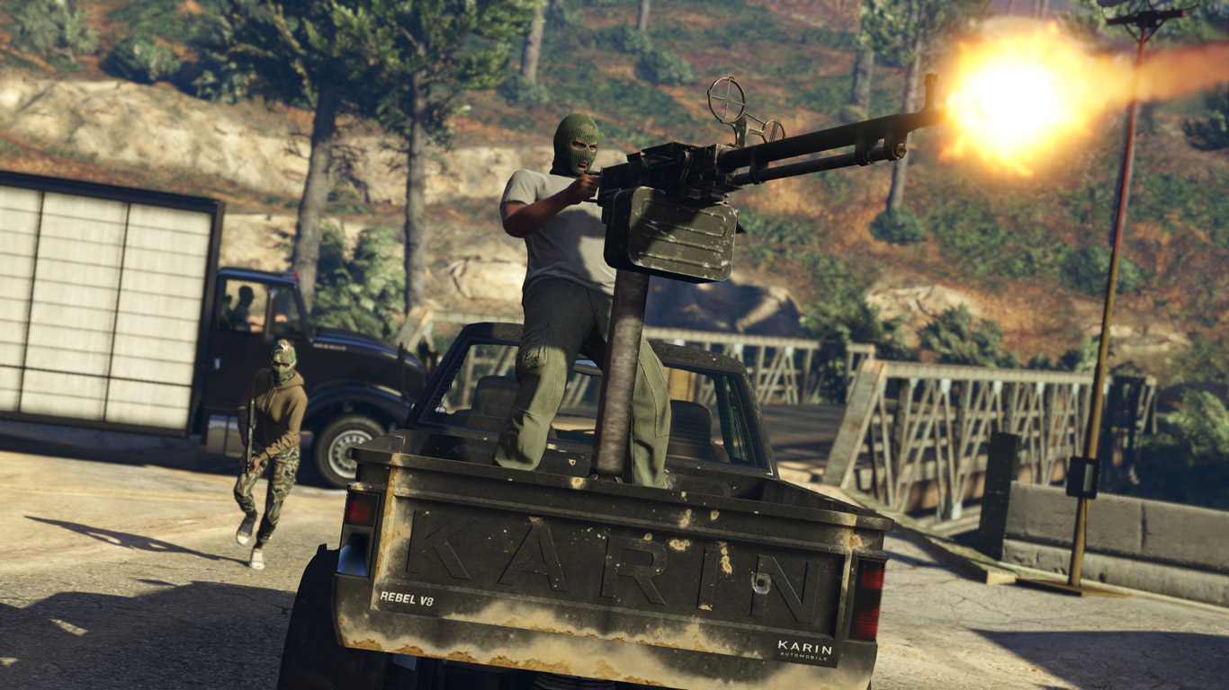 Grand Theft Auto V Wallpaper in 1366x768