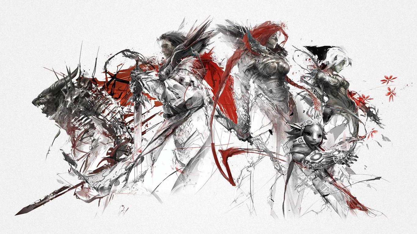 Free Guild Wars 2 Wallpaper in 1366x768
