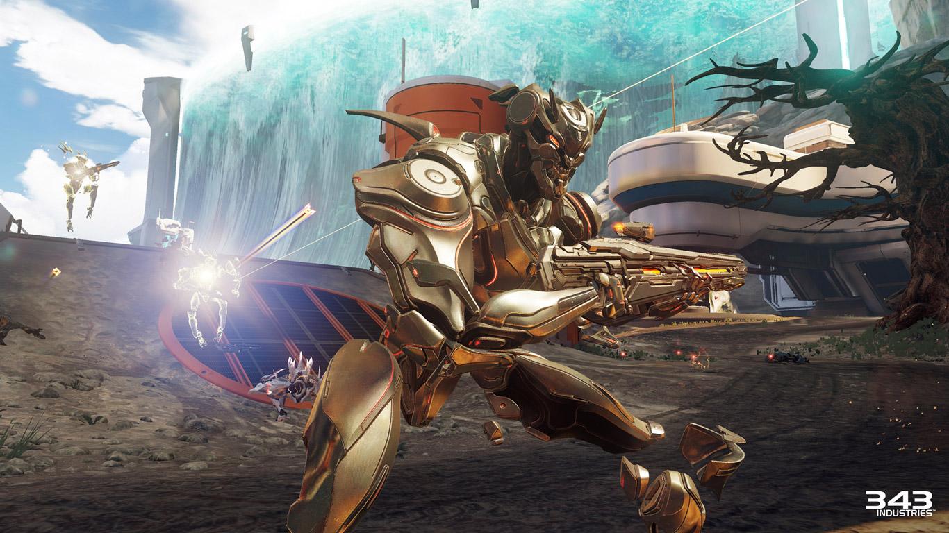 Halo 5: Guardians Wallpaper in 1366x768