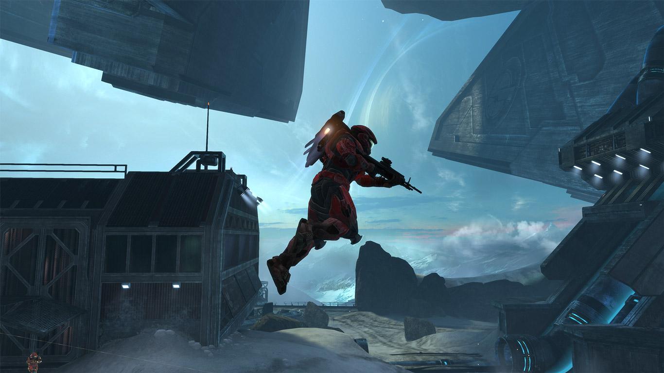 Free Halo: Reach Wallpaper in 1366x768