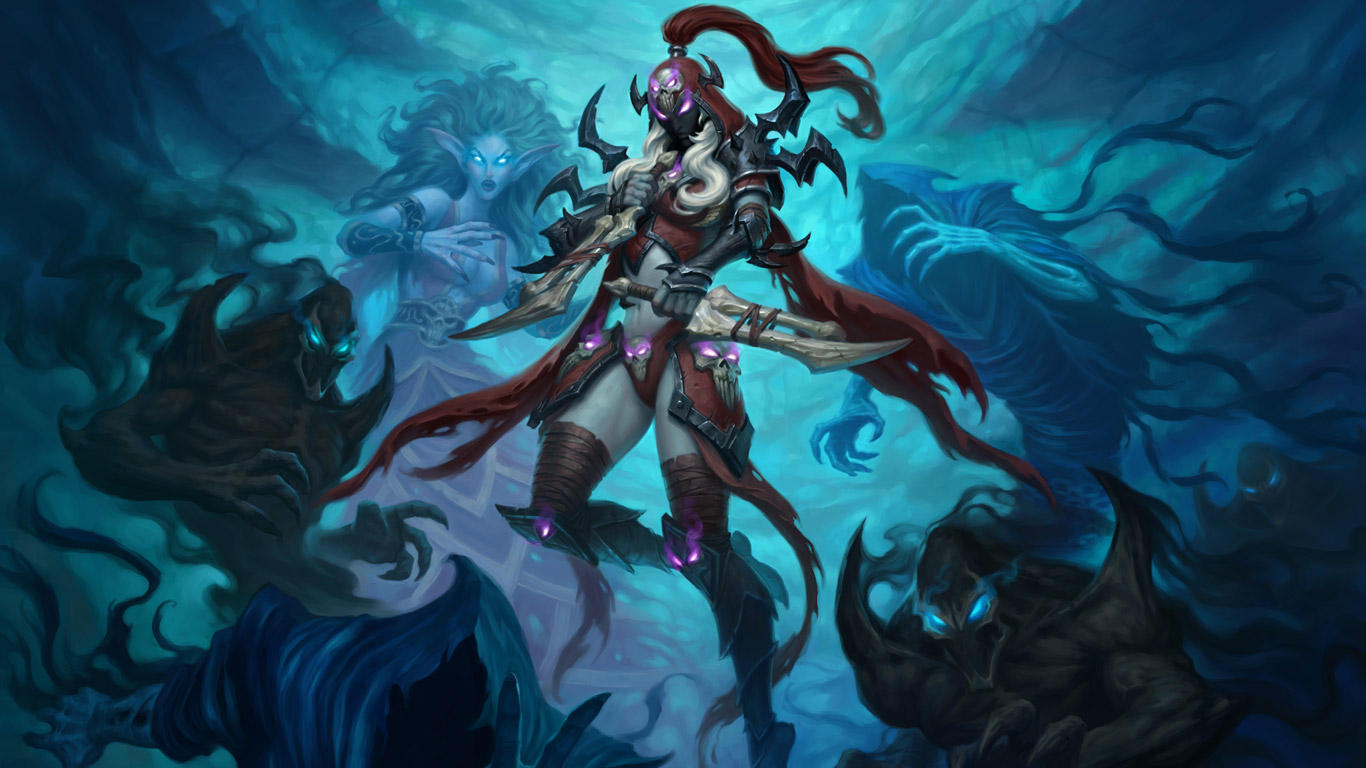 Free Hearthstone: Heroes of Warcraft Wallpaper in 1366x768