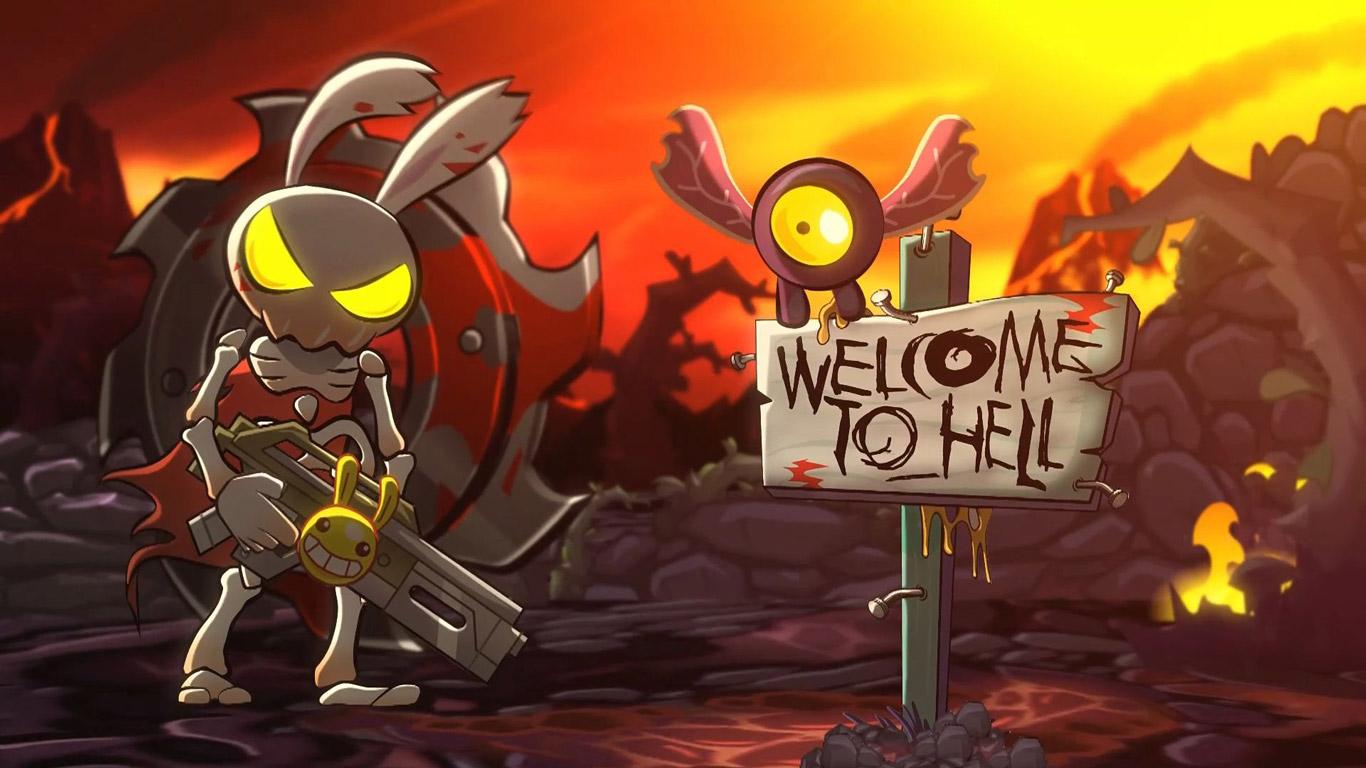 Hell Yeah! Wrath of the Dead Rabbit Wallpaper in 1366x768