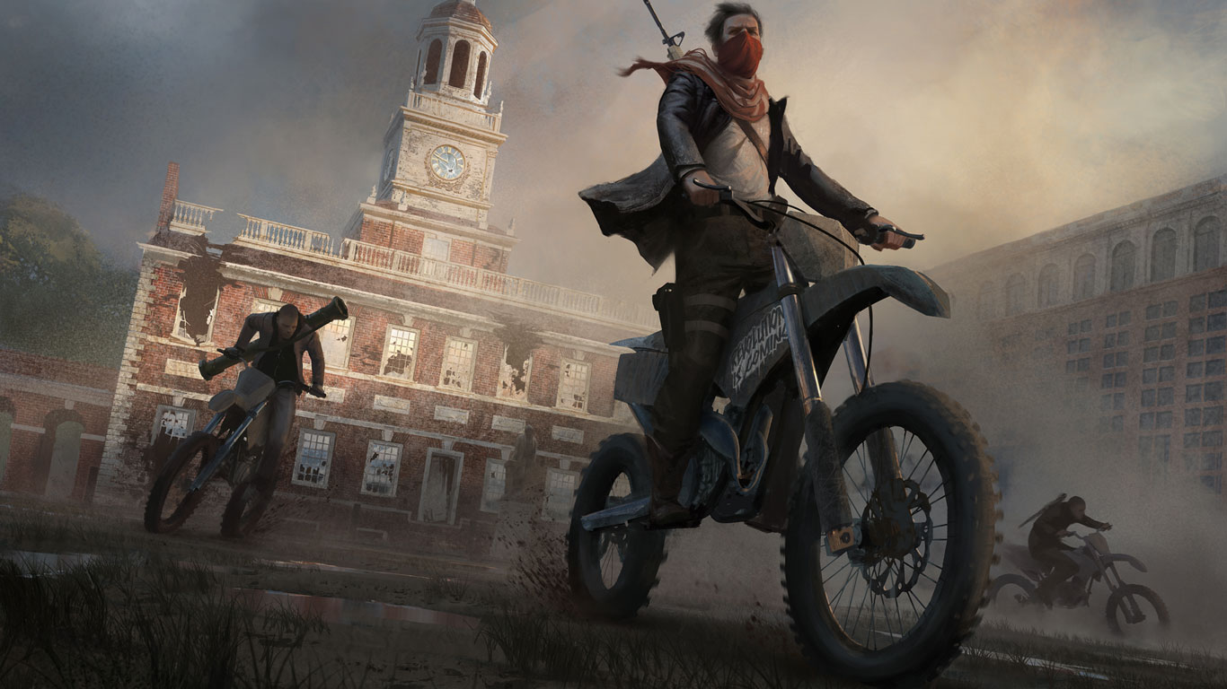 Free Homefront: The Revolution Wallpaper in 1366x768