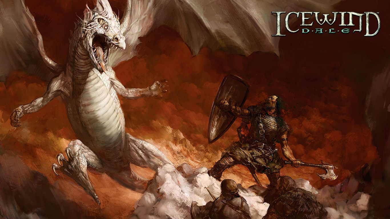 Free Icewind Dale Wallpaper in 1366x768