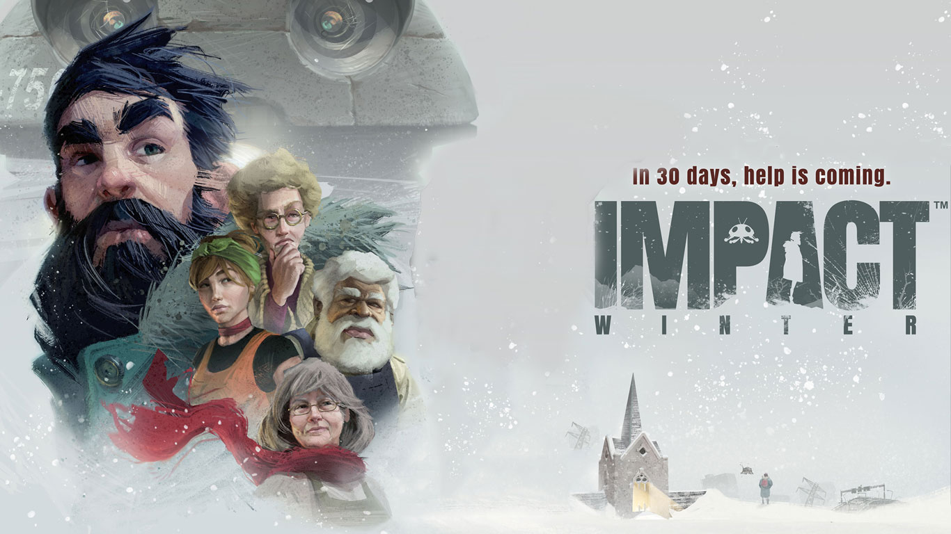 Free Impact Winter Wallpaper in 1366x768