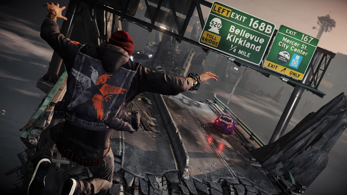 Free Infamous: Second Son Wallpaper in 1366x768