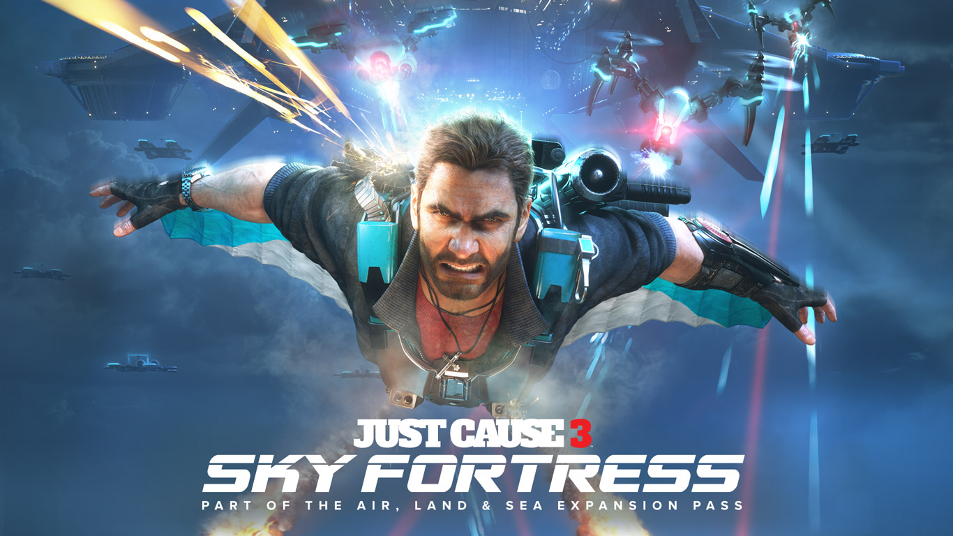 Free Just Cause 3 Wallpaper in 1366x768