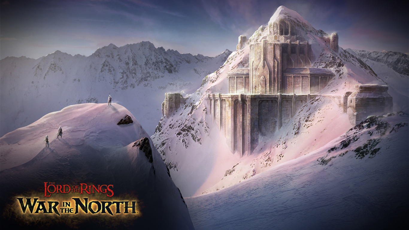 The Lord of the Rings: War in the North Wallpaper in 1366x768