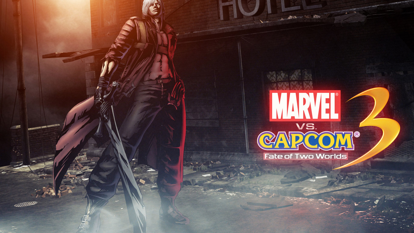 Marvel vs. Capcom 3: Fate of Two Worlds Wallpaper in 1366x768