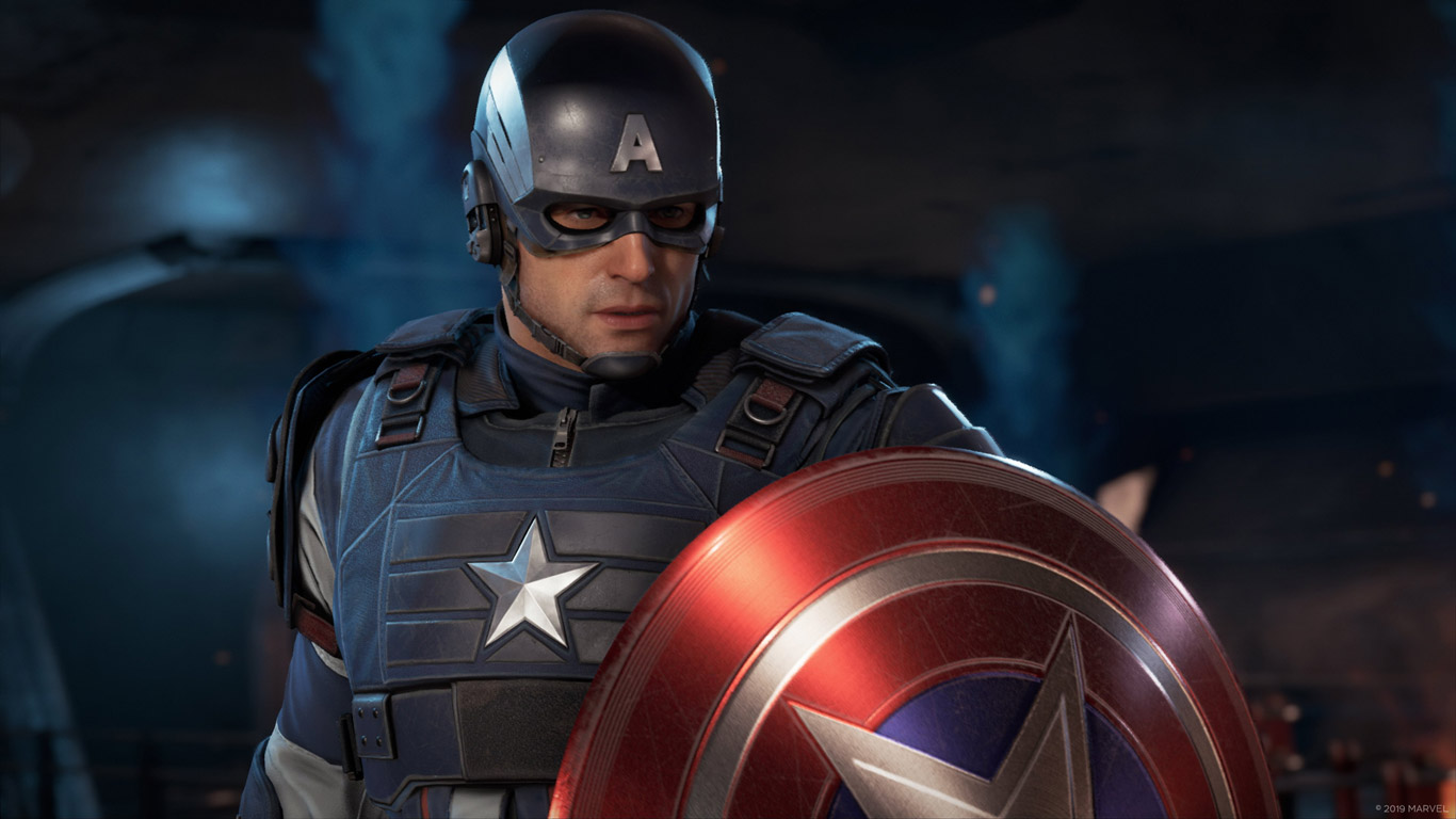 Free Marvel's Avengers Wallpaper in 1366x768