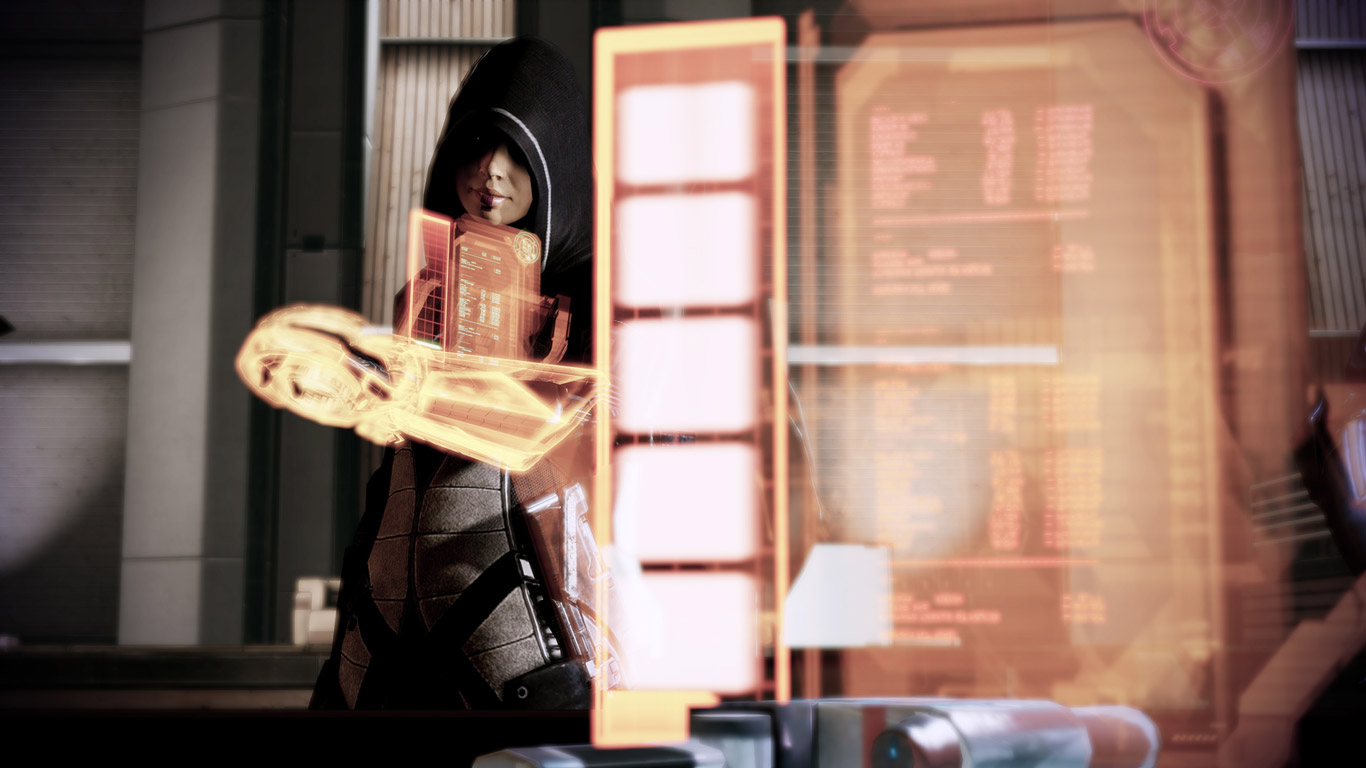 Free Mass Effect 2 Wallpaper in 1366x768
