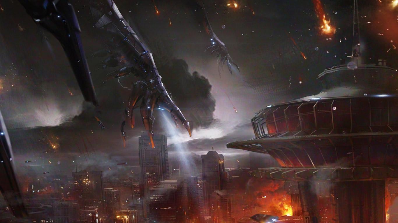 Mass Effect 3 Wallpaper in 1366x768