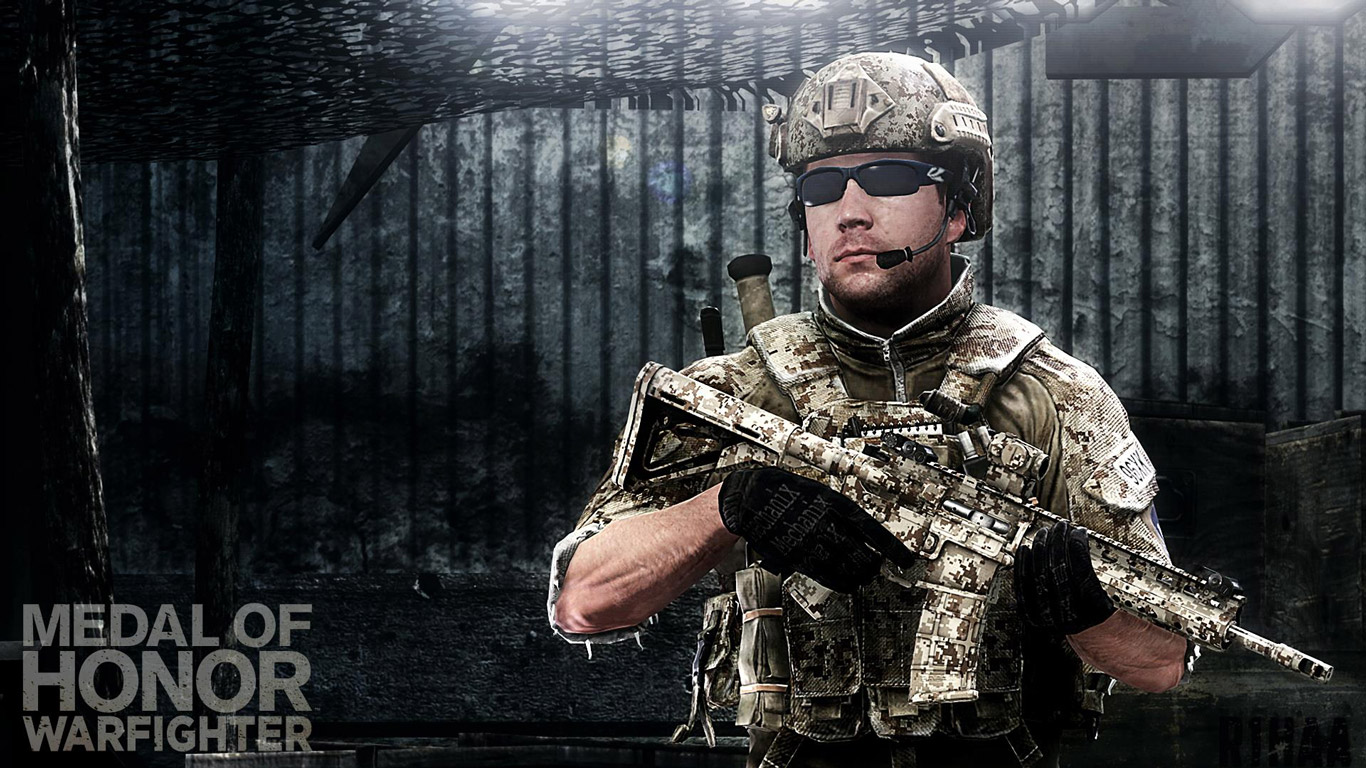 Free Medal of Honor: Warfighter Wallpaper in 1366x768