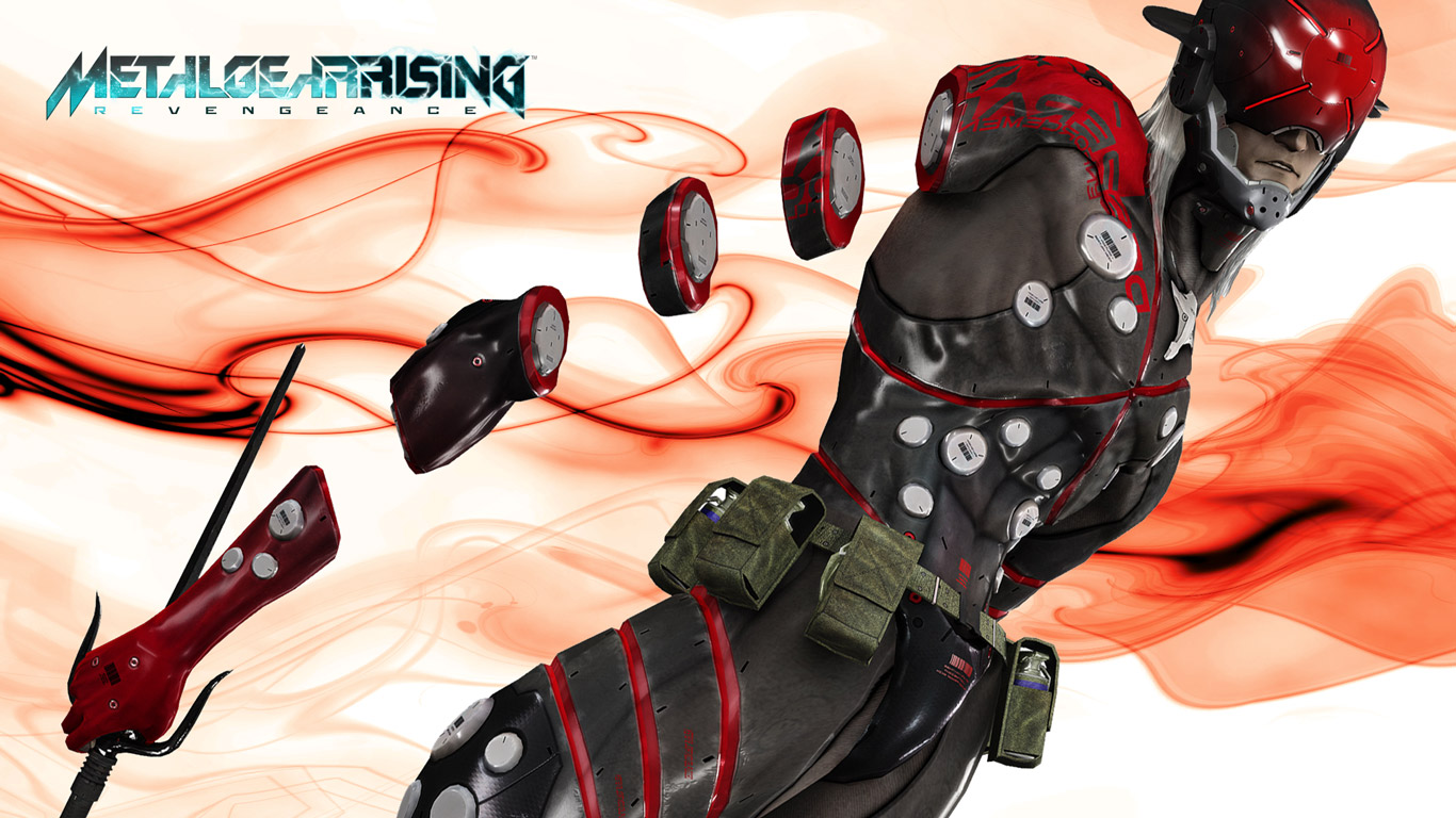 Free Metal Gear Rising: Revengeance Wallpaper in 1366x768