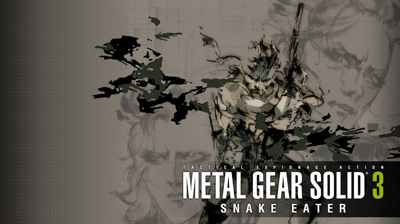 Free Metal Gear Solid 3 Wallpaper in 1366x768