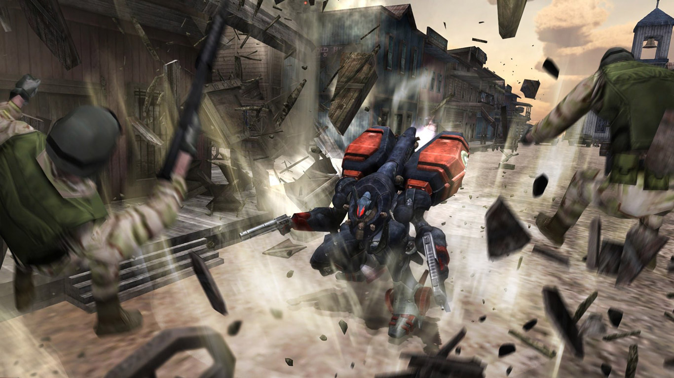 Free Metal Wolf Chaos XD Wallpaper in 1366x768