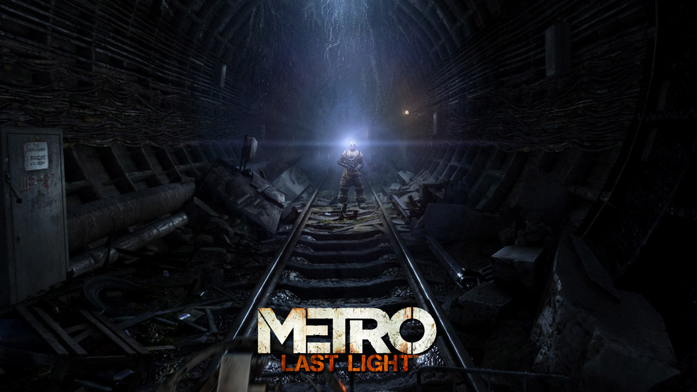 Free Metro: Last Light Wallpaper in 1366x768