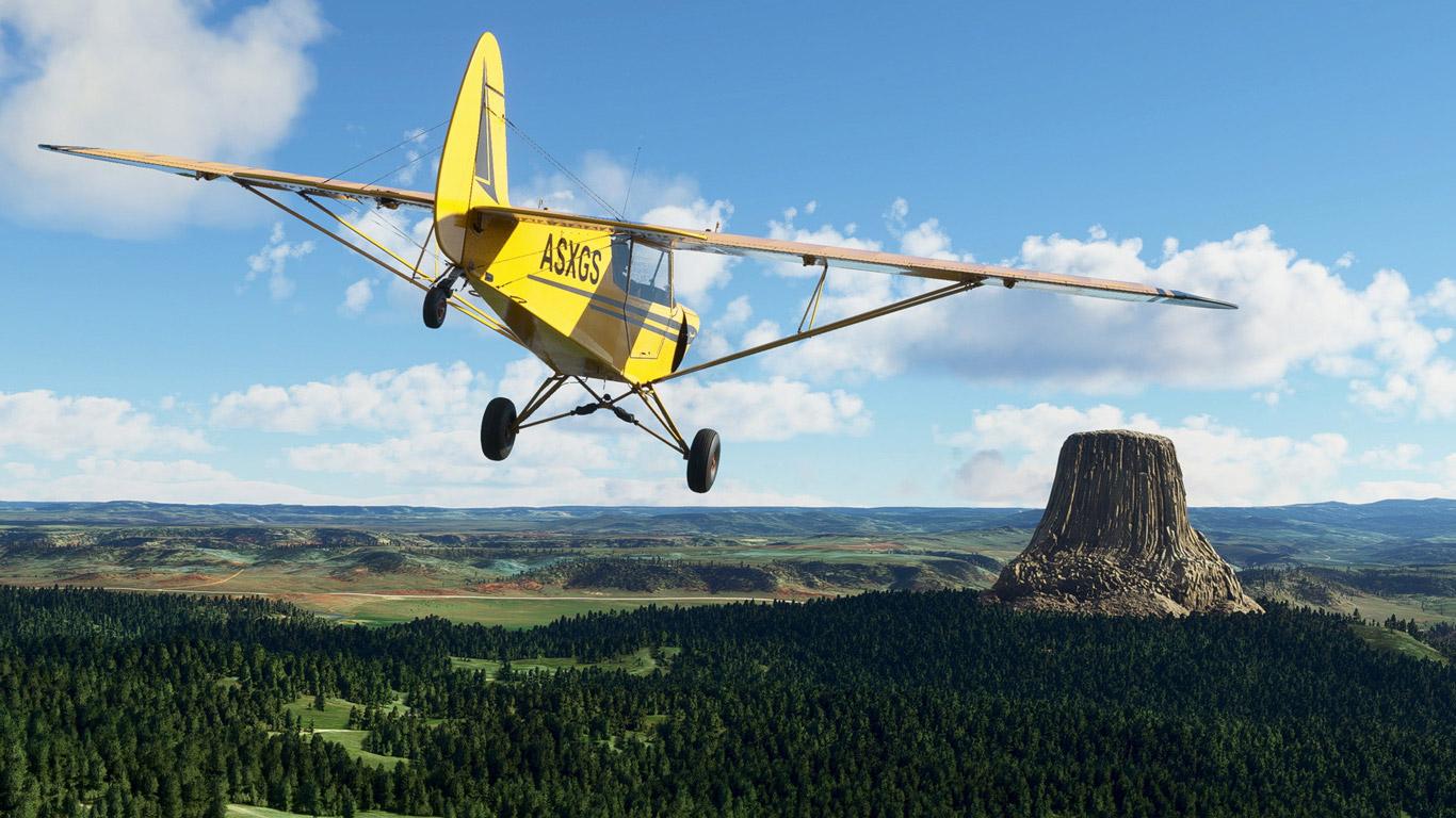 Microsoft Flight Simulator (2020) Wallpaper in 1366x768