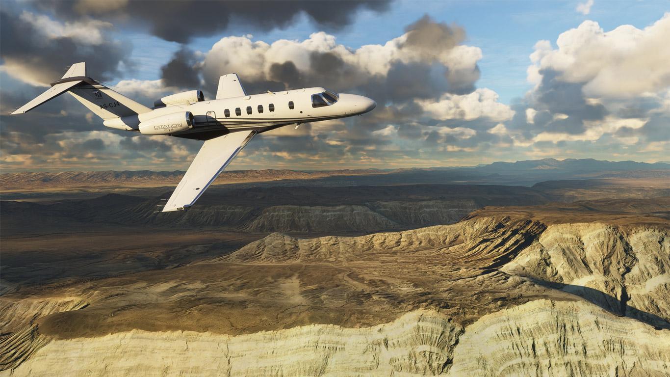 Free Microsoft Flight Simulator (2020) Wallpaper in 1366x768