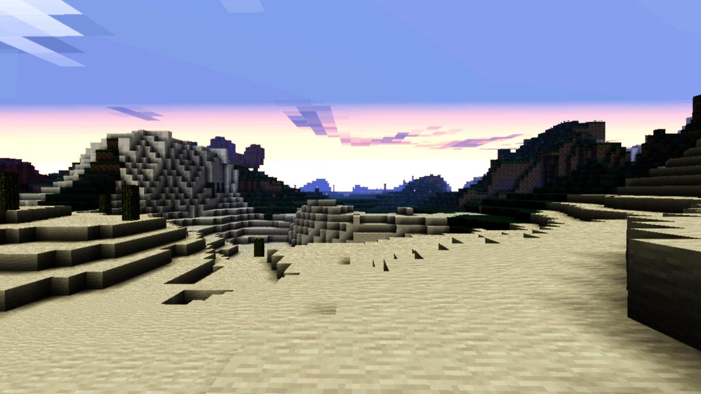 Minecraft Wallpaper in 1366x768