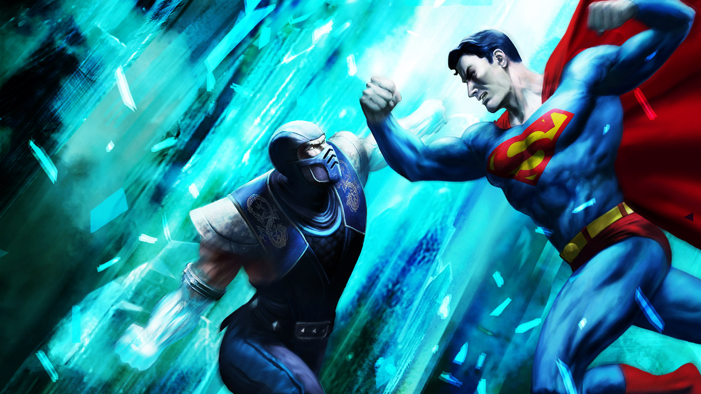 Mortal Kombat vs. DC Universe Wallpaper in 1366x768
