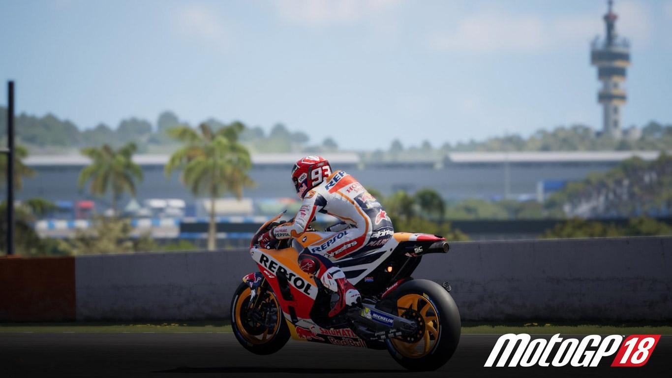 Free MotoGP 18 Wallpaper in 1366x768