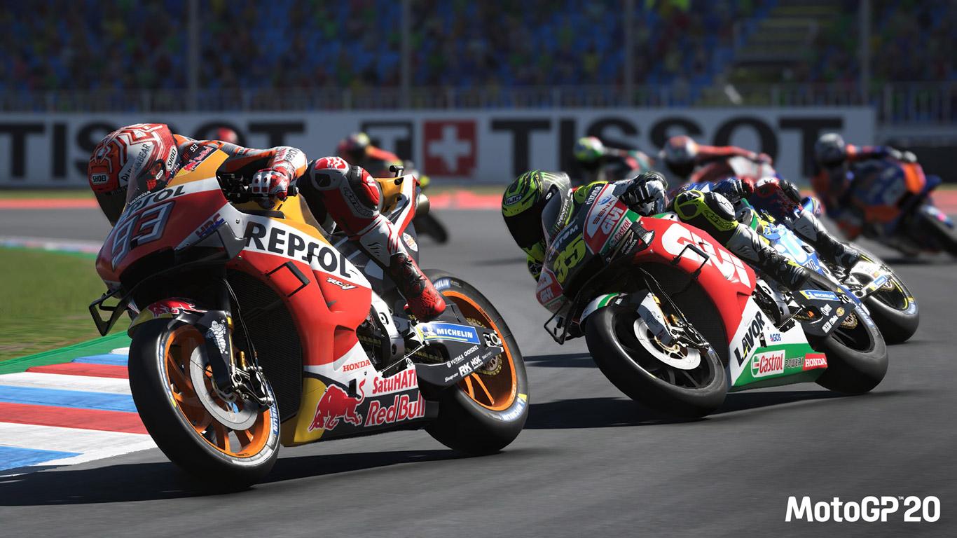 MotoGP 20 Wallpaper in 1366x768