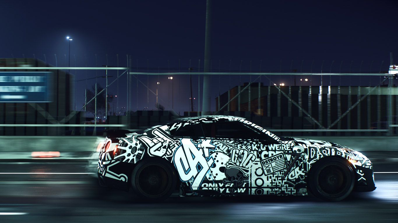Need for Speed Wallpaper in 1366x768