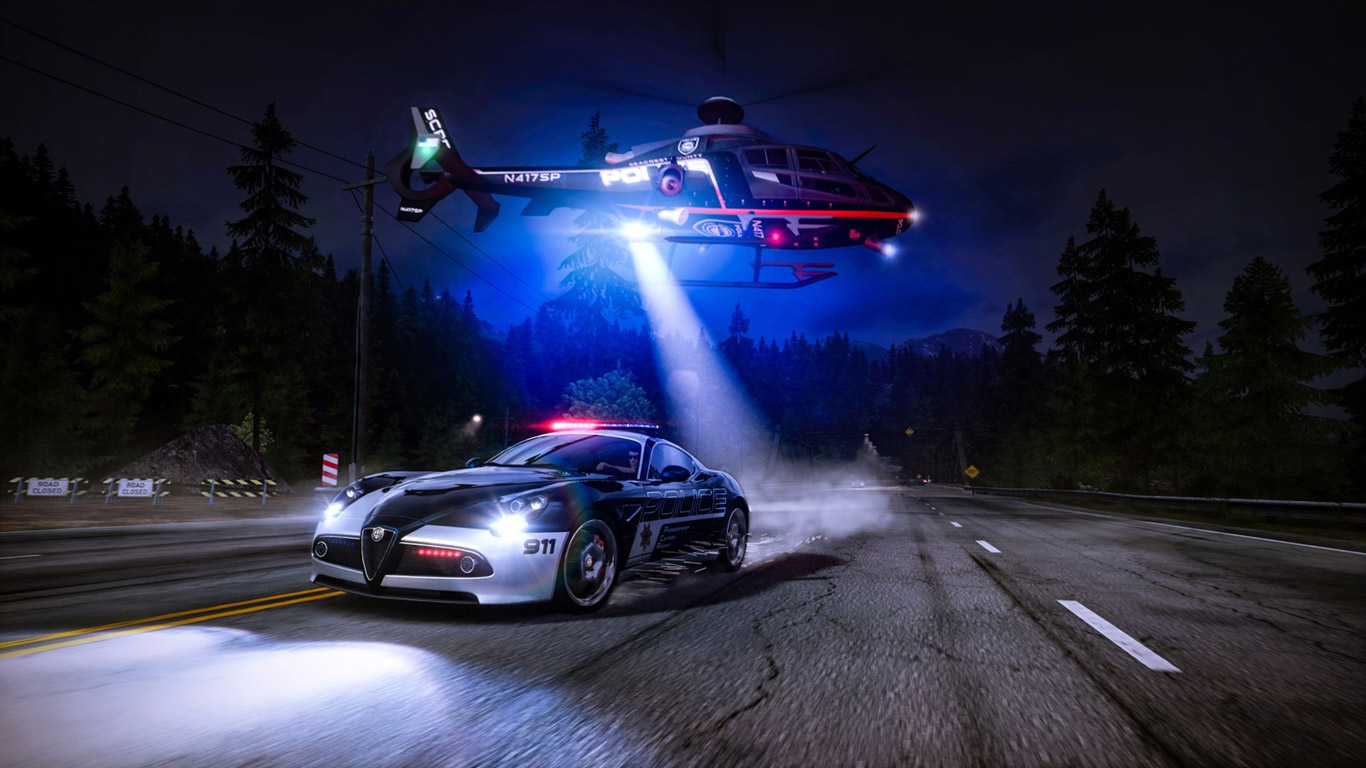 Need for Speed: Hot Pursuit Wallpaper in 1366x768