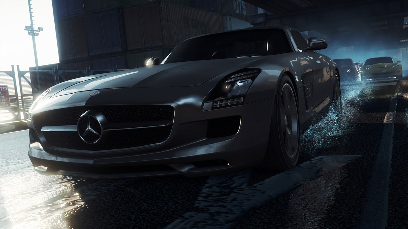 Free Need for Speed: Most Wanted (2012) Wallpaper in 1366x768