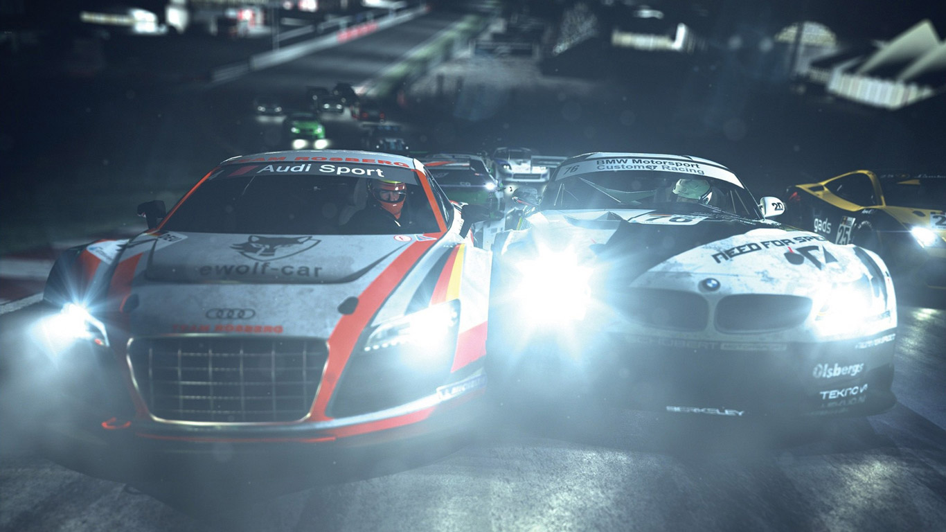 Need for Speed: Shift 2 Unleashed Wallpaper in 1366x768