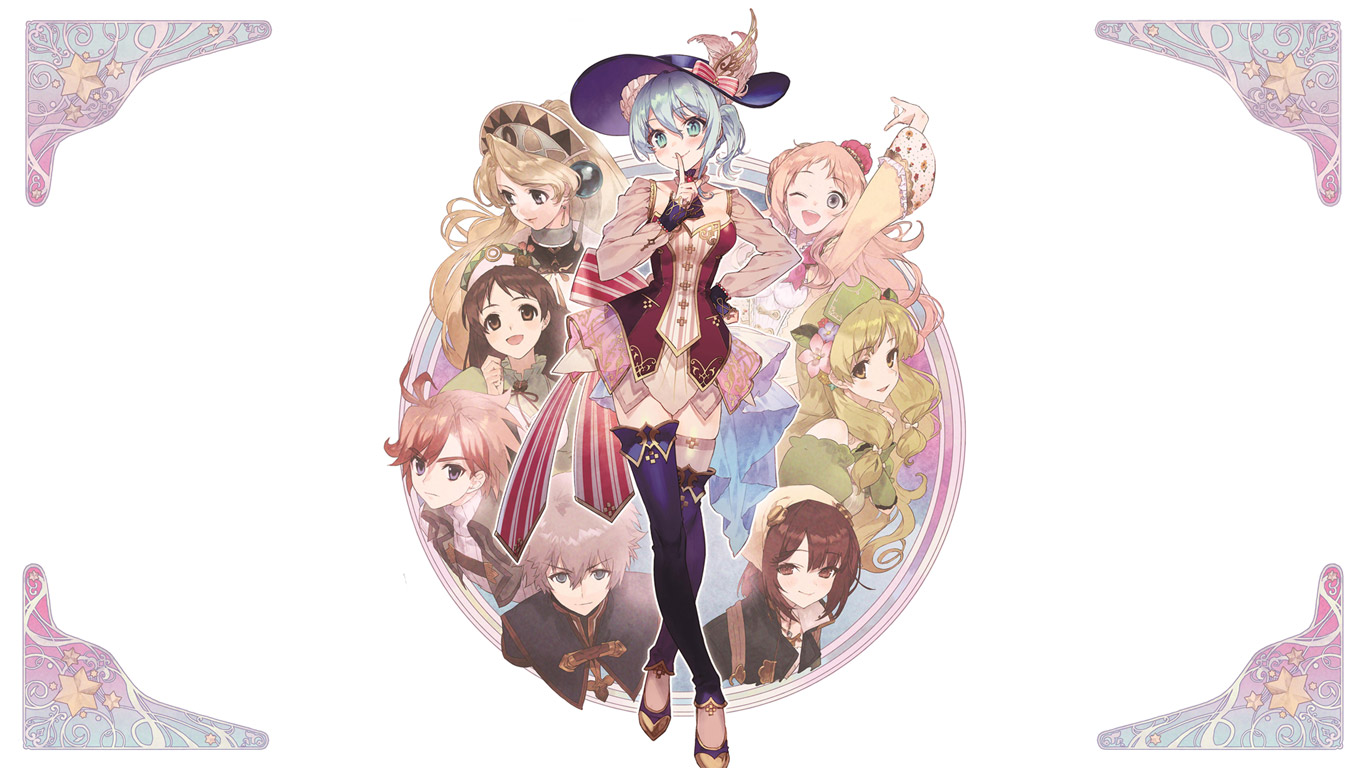 Free Nelke & the Legendary Alchemists: Ateliers of the New World Wallpaper in 1366x768