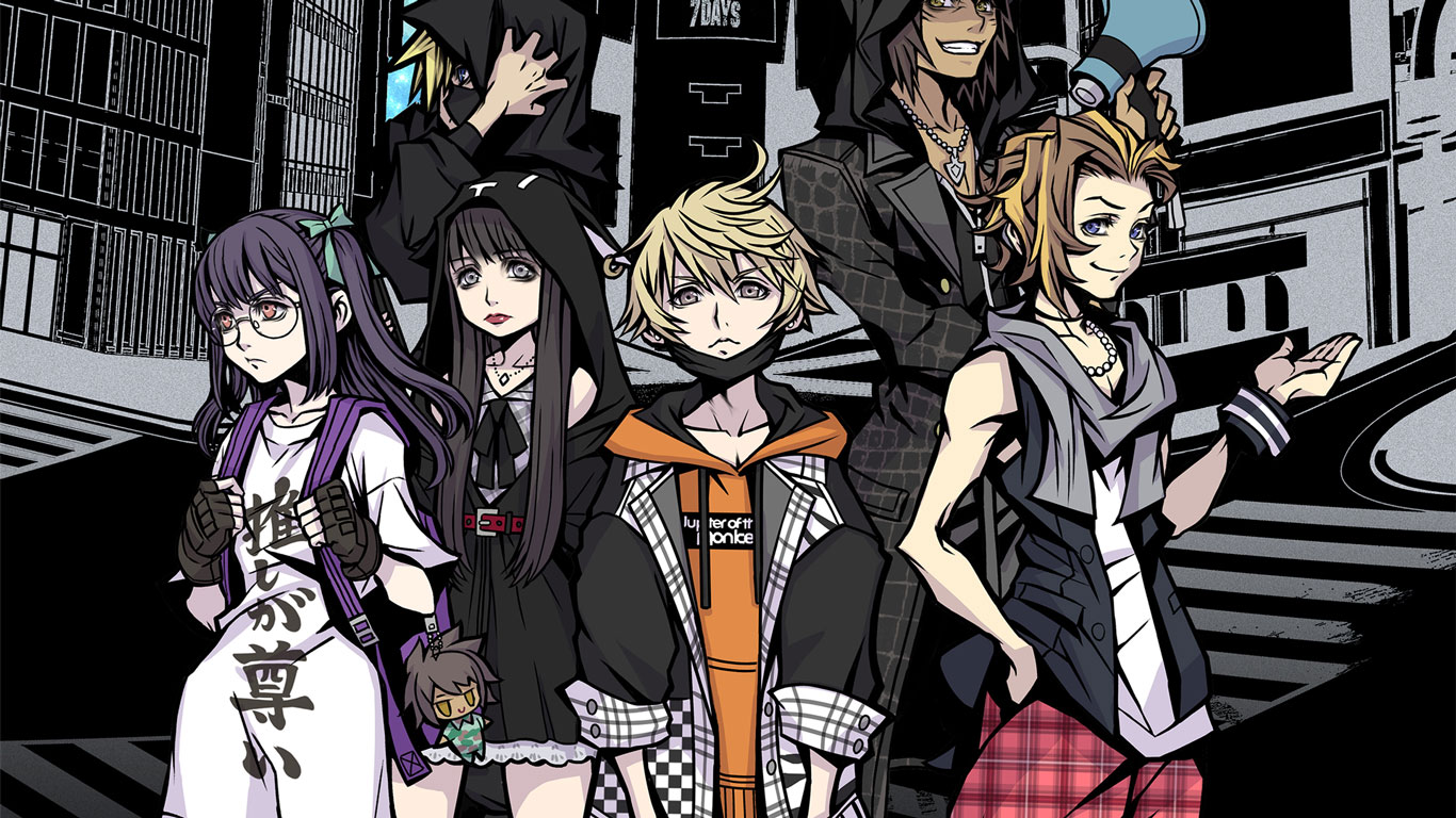 Free NEO: The World Ends with You Wallpaper in 1366x768
