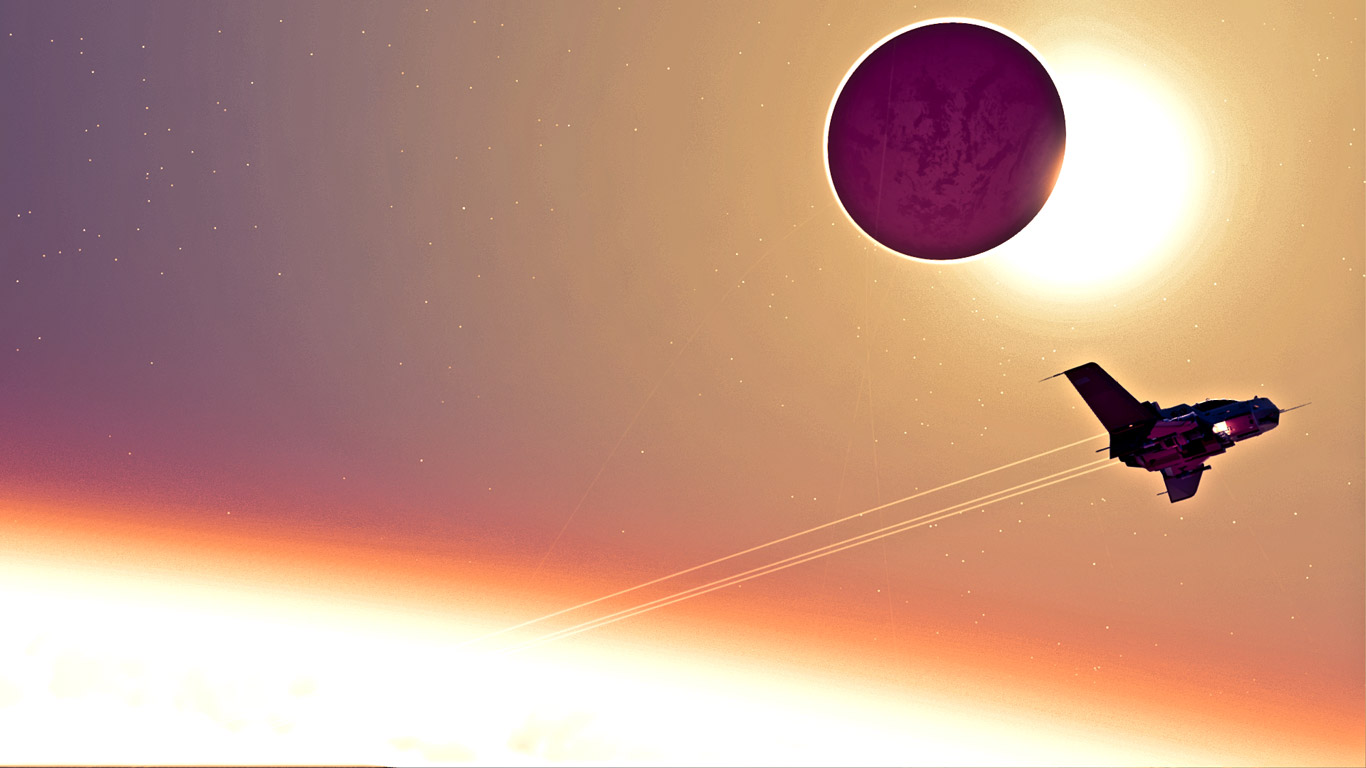 No Man's Sky Wallpaper in 1366x768